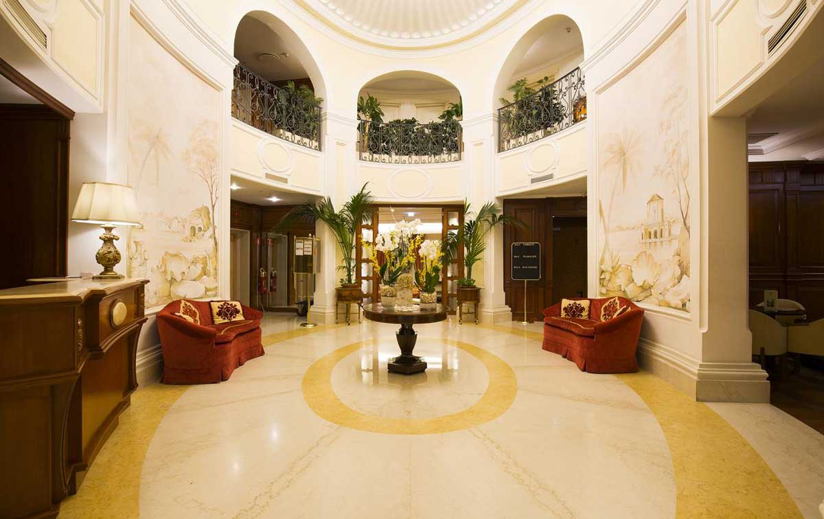 Hotel Palazzo Alabardieri, Naples Italy