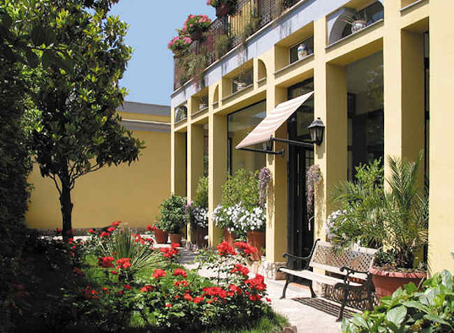 Hotel Villa Medici, Bay of naples in Italy