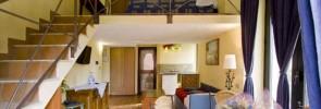 Junior suite Hotel Villa Medici, Naples