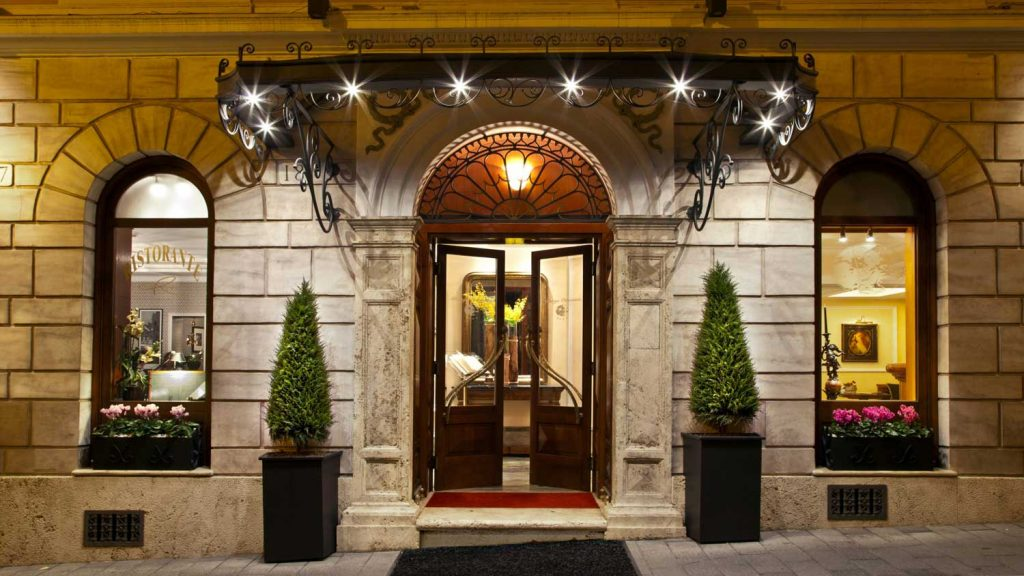 Hotel Ottocento, 4 Star luxury hotel in Rome, Italy