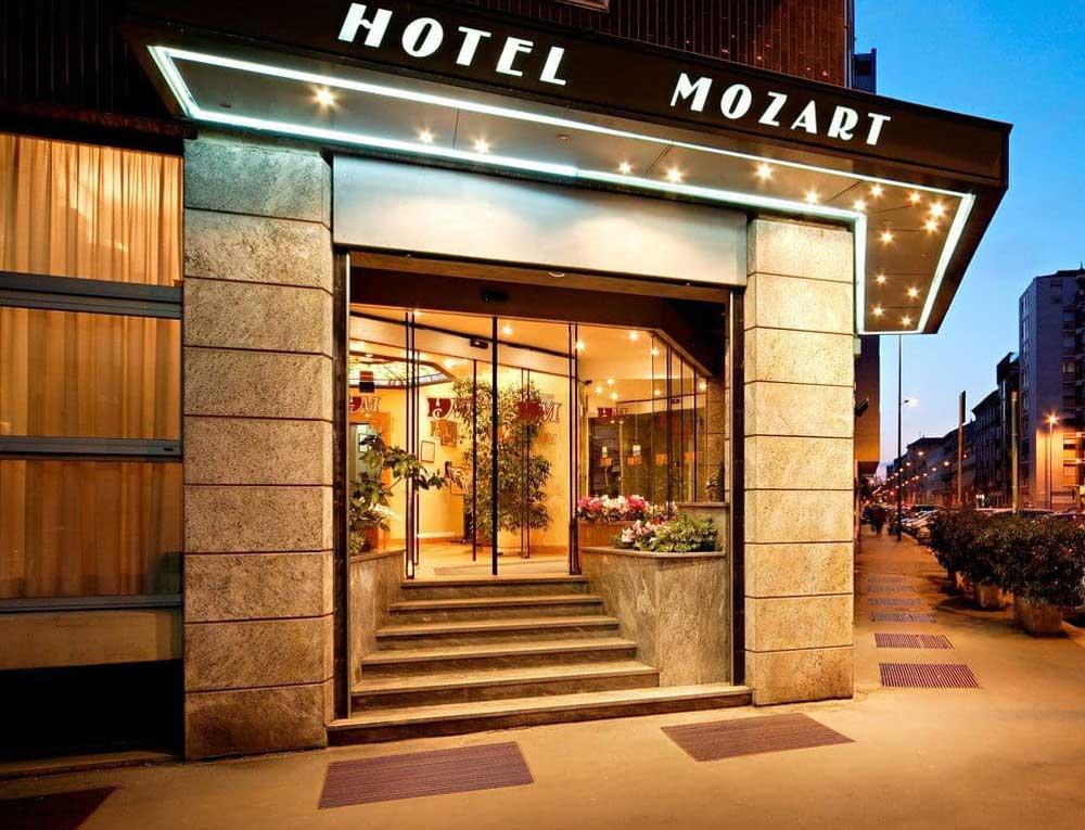 Hotel Mozart Milan, Italy