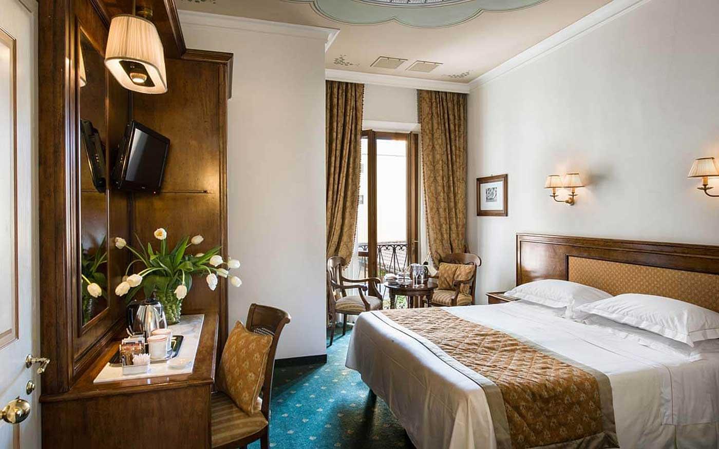Double room - Hotel Adler Cavalieri, Florence Italy