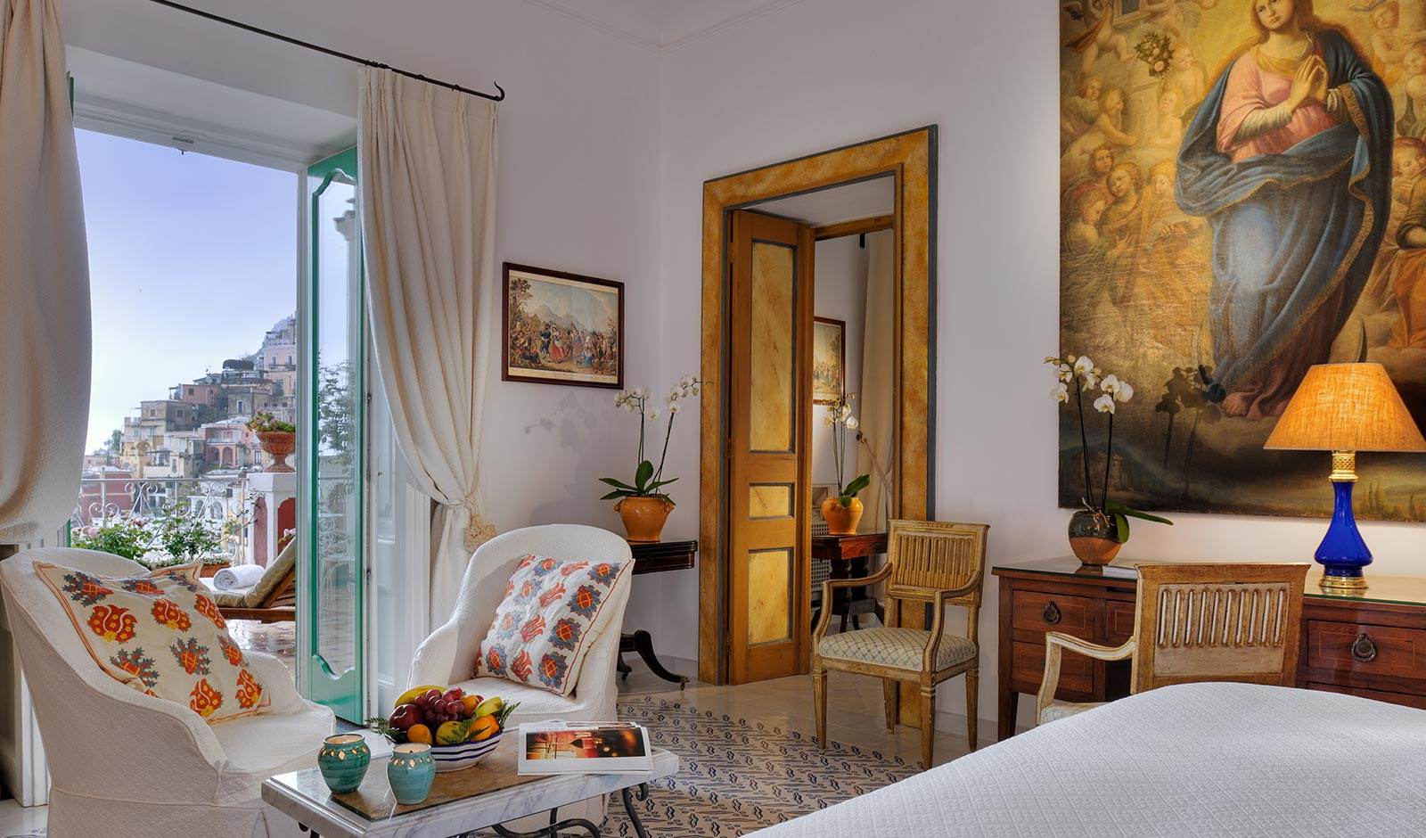 Deluxe room and Suite with sea view - Le Sirenuse luxury hotel in Positano (Amalfi Coast, Italy)