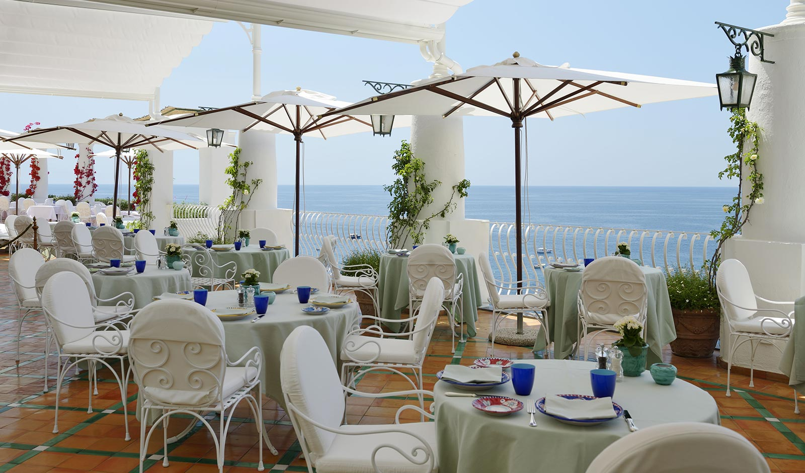 Restaurant La Sponda - Le Sirenuse hotel (Positano)