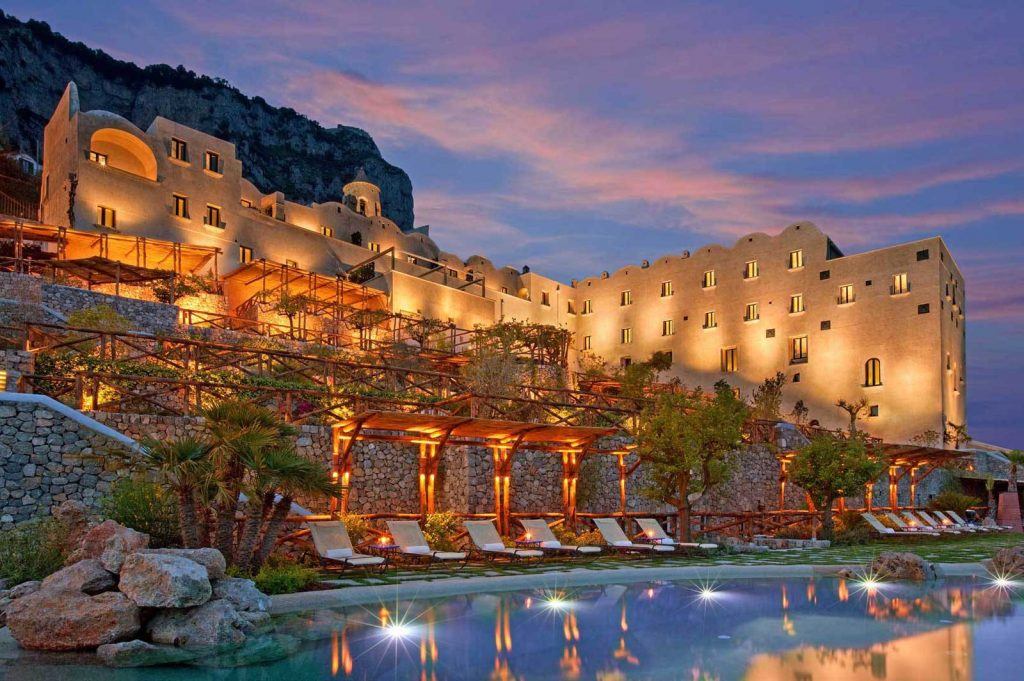 Monastero Santa Rosa, Luxury hotel on the Amalfi Coast