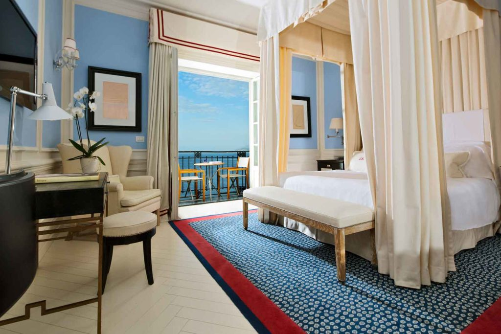 Deluxe room with sea view JK Place Capri Italy