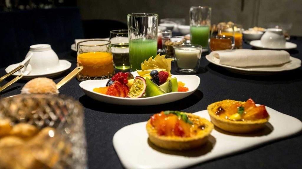 The H'All Tailor Suite Hotel Rome: The All'Oro Breakfast