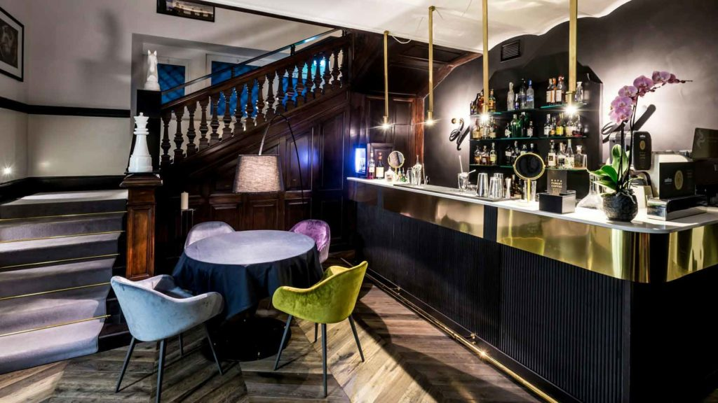 The H'All Tailor Suite Hotel Rome: All'Oro Bar
